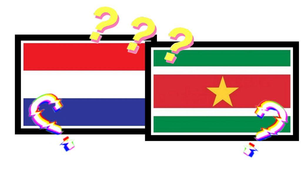 nederlandse vlag surinaamse vlag
